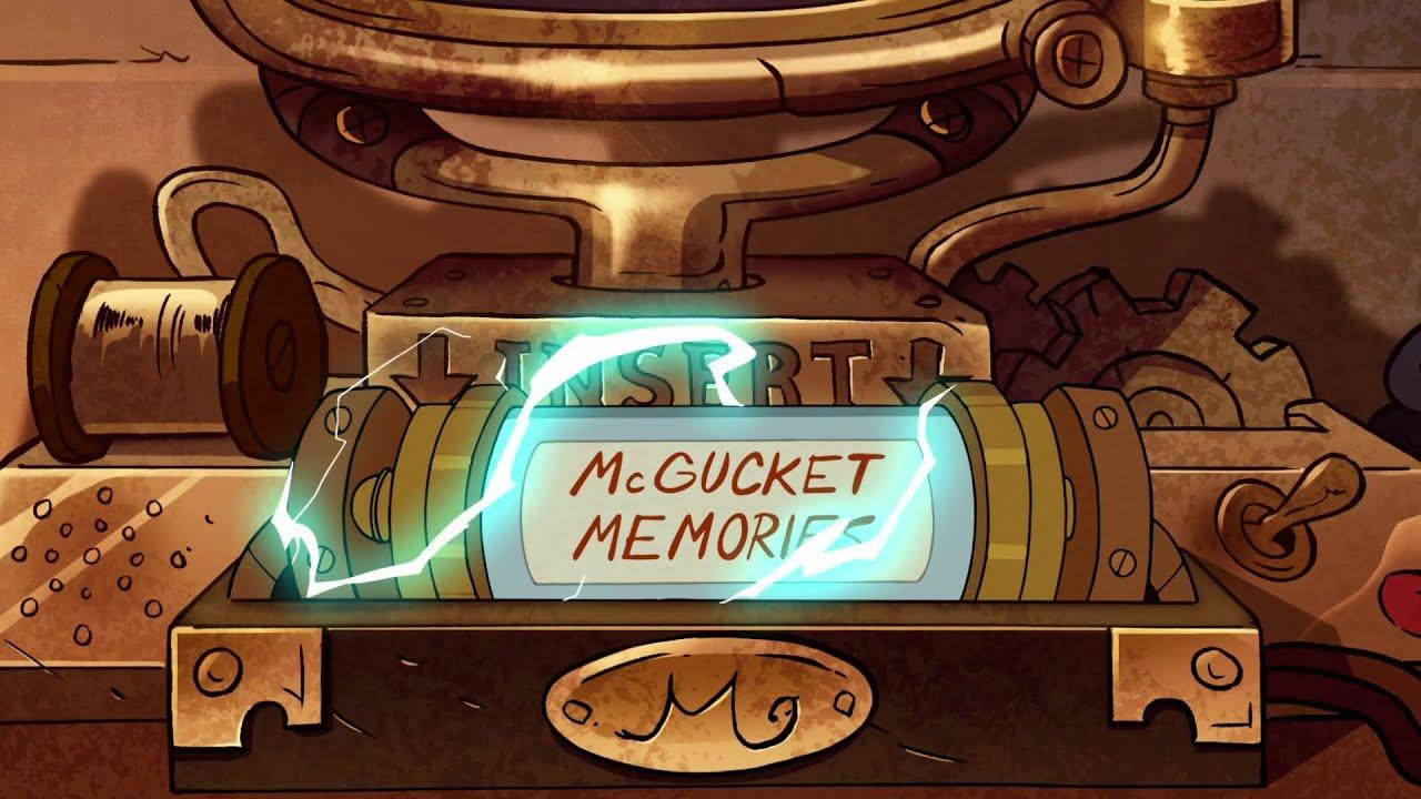 Gravity Falls Mcgucket Memories Gravity Falls Mcgucket's