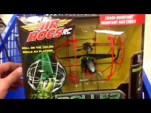 Air Hogs Rc  Roller Copter  Remote Controlled Helicopter With Roll Cage   Toy Review