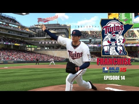 MLB 15 The Show (PS4) Minnesota Twins Franchise EP14