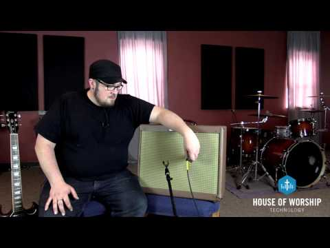 Church Tech Tip Tuesday - How To Mic An Electric Guitar Amp - House Of Worship Technology