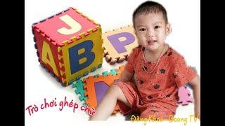 Trò chơi ghép chữ xếp hình cho trẻ em | Boong TV |