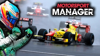 WET RACE MISTAKES & OVERTAKING JOB IN JAPAN | Motorsport Manager PC