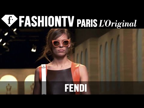 Fendi Spring summer 2015 First Look | Milan Fashion Week | Fashiontv video