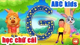 Học bảng chữ cái cùng anh Lee #1 | Game ABC Kids - Tracing & Phonics | education games