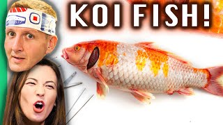 Eating Japan39s Most PRIZED Fish!!! Fukushima39s RARE Countryside Foods!!