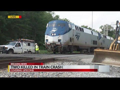 Two killed in train crash