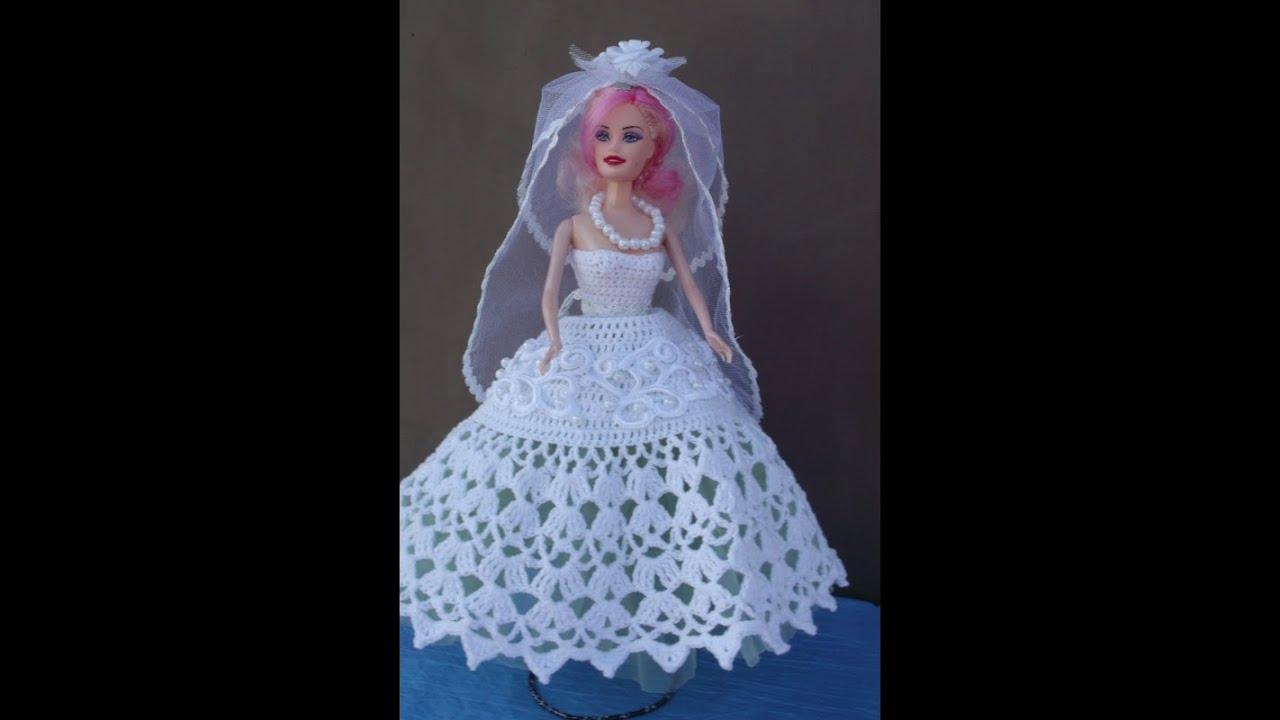 Как сшить для куклы барби с свадебных платьях 282