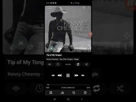 Kenny Chesney - Tip Of My Tongue (Official Lyric Video)