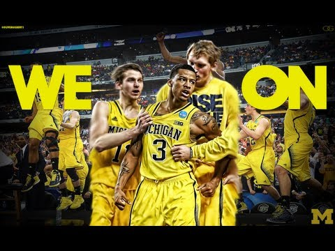 Michigan Basketball Team 96: Cant Hold Us We On