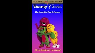 Barney & Friends: The Complete Fourth Season 1997 VHS (Tape 4) (FAKE)
