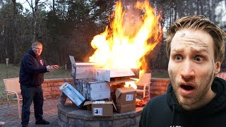 MASSIVE FIRE BREAKS OUT AT MY HOUSE!