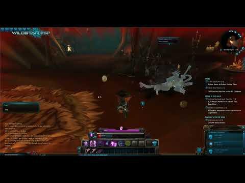 WildStar: Chua Esper Soldier questing at Deradune ~ Deathbringer´s Tomb (beta client)
