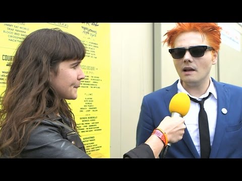 Gerard Way interview at Reading 2014