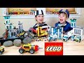 Best LEGO PRISON BREAKS! A Pretend Play Police Chase using Legos Compilation