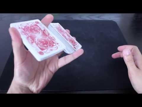 Shuffle Cards Like a Boss: One Handed Card Shuffle Tutorial