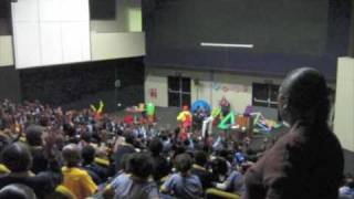 Maths Show at the Sci Bono Science Discovery Centre in Johannesburg