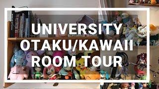 Kawaii & anime room tour 2018 (university room)