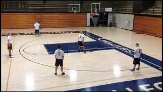 Triangle Zone Offense - Part 1 of 4 - Doug Schakel Basketball