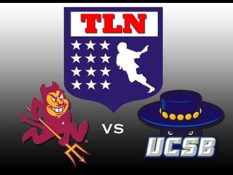 SLC Playoffs: #5 UC Santa Barbara vs #8 Arizona State University