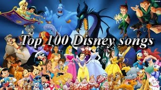 Top 100 Disney / non-Disney songs