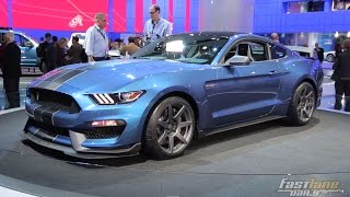 2016 Ford Mustang Shelby GT350R - 2015 Detroit Auto Show - Fast Lane Daily
