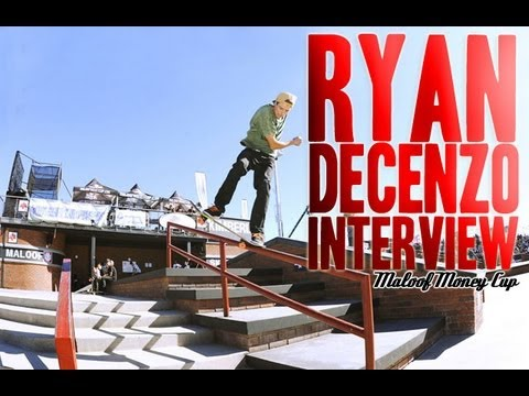 Ryan Decenzo Interview about Maloof Money Cup 2012