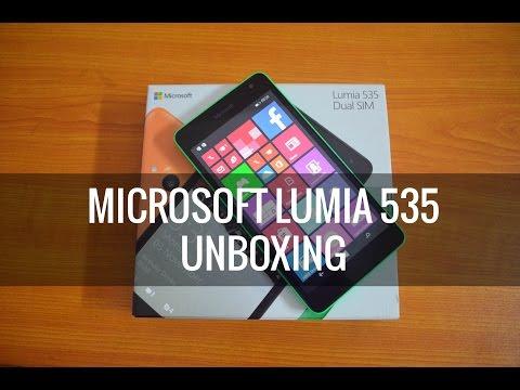 Microsoft Lumia 535 Unboxing