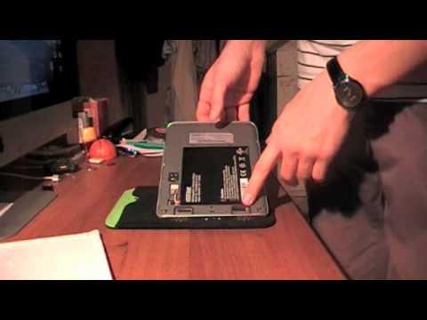 Видео как снять крышку с Explay