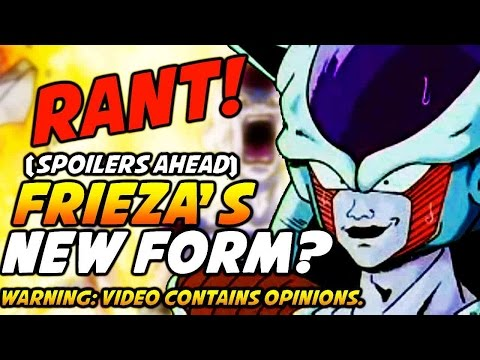 Dragon Ball Z Revival Of F: Frieza's New Form Revealed For 2015 Movie! Rant! What Is This? video