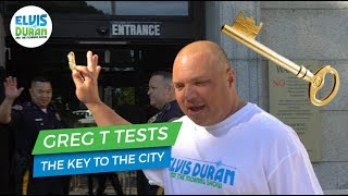 Greg T Tests What A Key to the City Really Does | Elvis Duran Exclusive