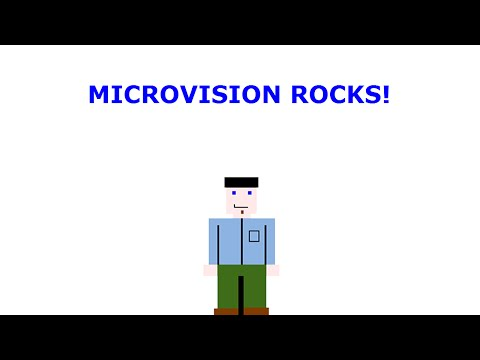 Reviews of Every Milton Bradley Microvision Game Ever! - Retro Game Living Room