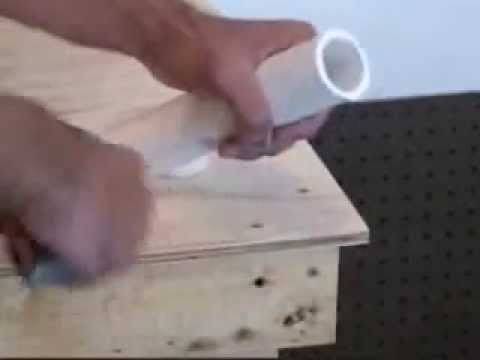Plumbing - Gluing PVC Pipes