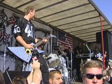 Metallica Seek and Destroy 1-19-03 Network Associates Coliseum Parking Lot Oakland, CA
