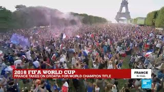 France is world champion!!! Watch the crowd go wild