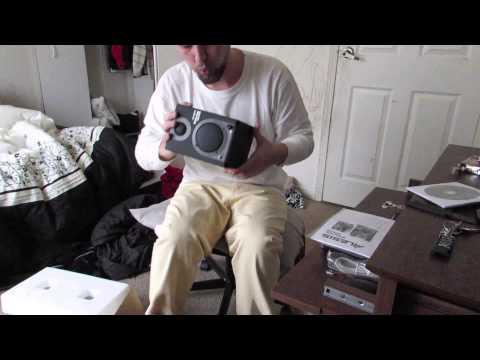 Unboxing Alesis 320 Usb Studio Monitors