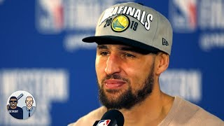 Klay Thompson won't be leaving the Warriors following All-NBA snub - Jalen Rose | Jalen & Jacoby