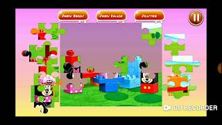 Disney Mickey Minnie Mouse Cake Fun Jigsaw Puzzle Video For Kids Apps Gameplay