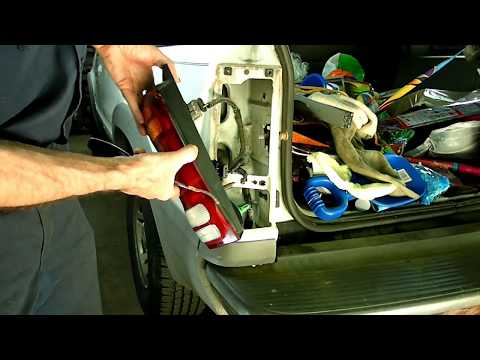 Ford Explorer Brake Tail Light Bulb Replacement