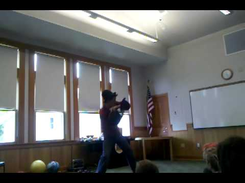 Alex Zerbe -- Hat Dance Mash up Ilwaco WA library