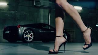 High Heels Walk Slow Motion
