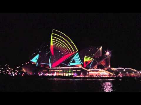 Sydney Opera House Vivid Lighting Festival by SUPERBIEN 2011