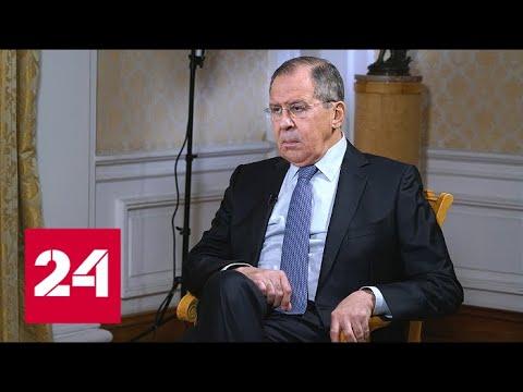Интервью Сергея Лаврова на телеканале Би-Би-Си для программы «Хард ток»