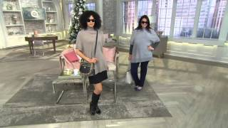 Isaac Mizrahi Live! 2-Ply Cashmere Sweater Tunic on QVC