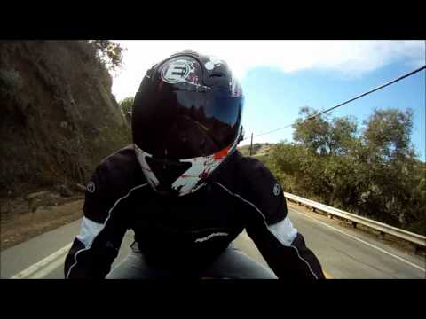 Yamaha R6 Motorcycle Sportbike Ride Going Up TurnBull Canyons. OnBoard GoPro HD. VLOG