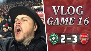 Ludogorets 2 v 3 Arsenal | ÖZIL STEALS THE SHOW | Matchday Vlog | Matchday 16