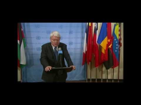 Ladsous Refuses Press Qs on UN Police Shooting Civilians in Mali & Haiti, Scribes Blames Rwandans