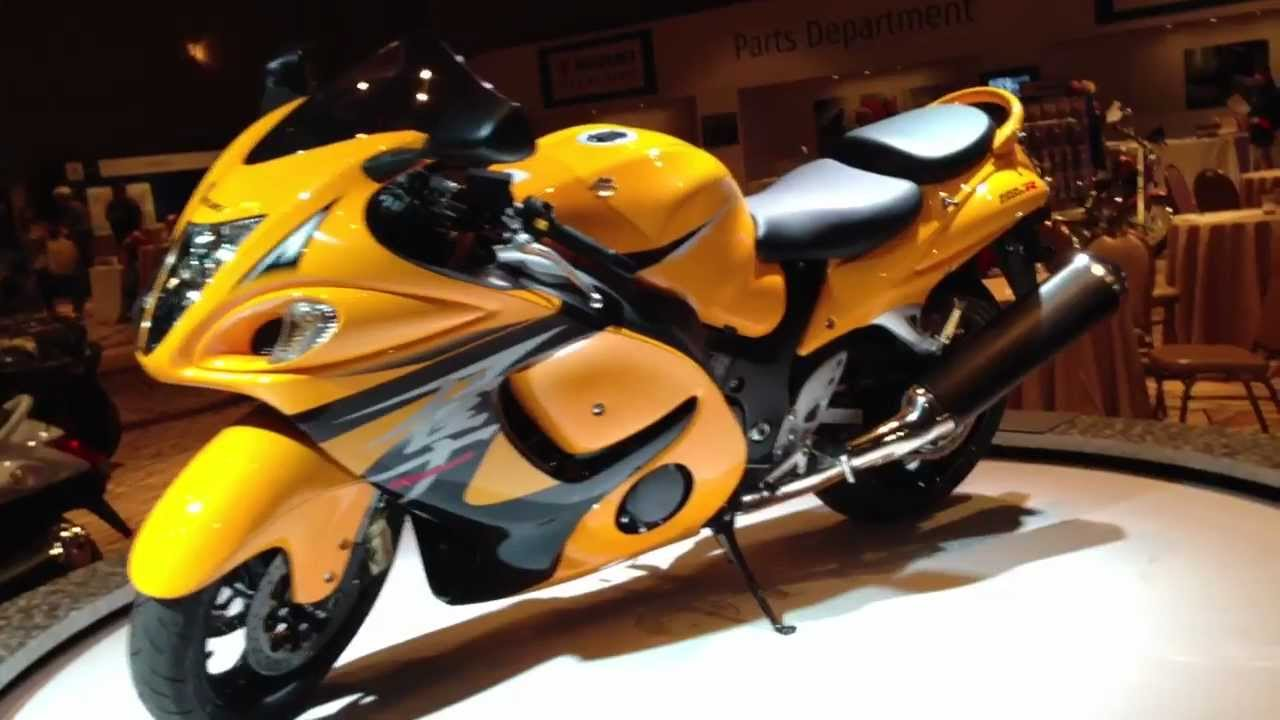 Suzuki Hayabusa Limited Edition In Yellow And Black