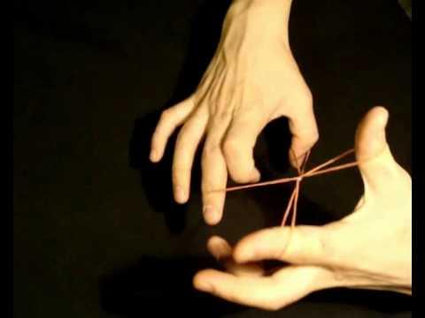 Секрет фокуса Трюк с резинками