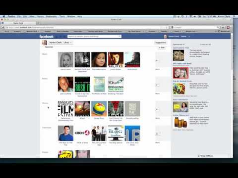 How to Make Your Facebook Likes Private - Hide Fan Pages You Like