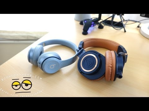 Battle Vid: Beats Solo 2 vs. Audio Technica M50xBL